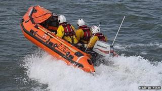 John F Mortimer lifeboat