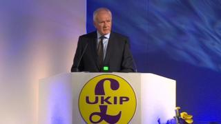 David McNarry at UKIP annual conference