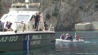 Greek coastguard