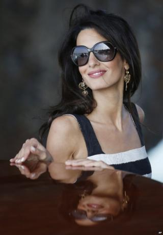 Film star George Clooney marries in Venice