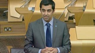 External Affairs Minister Humza Yousaf