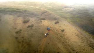 Men stranded on Harts Fell