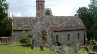 St Bridget's Church, Llansantffraed