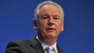 Francis Maude addressing the 2011 Conservative conference