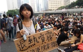 Things that could only happen in a Hong Kong protest