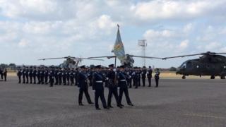 March at RAF Benson