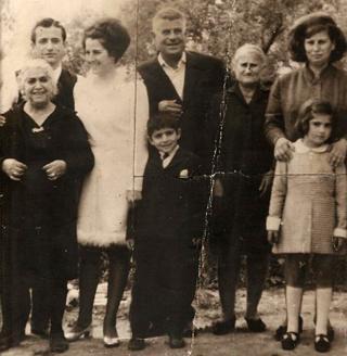 Maria Georgiadis with her family