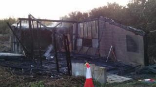 Garage fire Witney