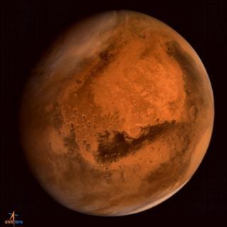 MOM image of Mars