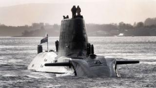 HMS Astute is based at Faslane