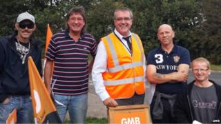 Sheffield GMB strike