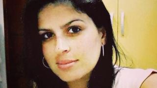 Undated picture of Jandira dos Santos Cruz handed to the BBC by her family