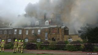 Crathorne Hall fire