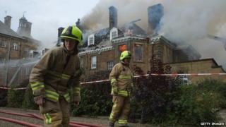 Crathorne Hall hotel fire