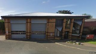 Tenbury Wells fire station