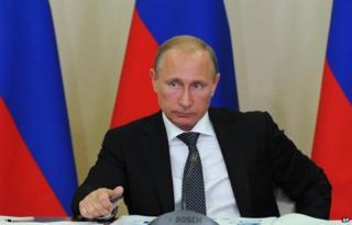 Vladimir Putin (file pic)