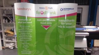 Foyle rotary food bank