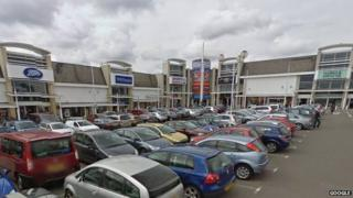 Fosse Park shopping area