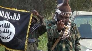 A screengrab taken on 2 October 2014 from a video released by the Nigerian Islamist extremist group Boko Haram and obtained by AFP shows the leader of the Nigerian Islamist group Boko Haram, Abubakar Shekau