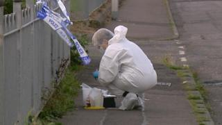 Police collect evidence