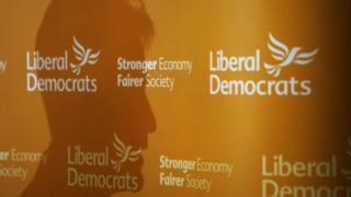 Lib Dem conference backdrop