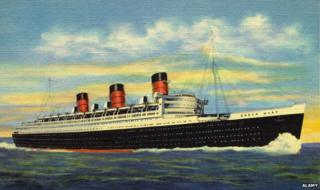 The Queen Mary liner