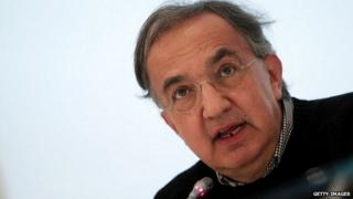 Fiat Chrysler Automobiles (FCA) Group Chief Executive Officer Sergio Marchionne speaks at a press conference at the end of Fiat's last shareholders general assembly at Lingotto in Turin, on August 1, 2014