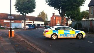 Foleshill scene of crime