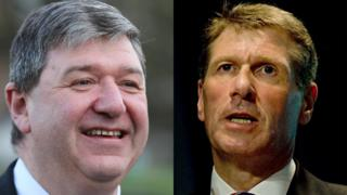 Alistair Carmichael and Kenny MacAskill
