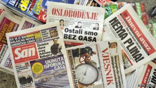 Bosnian newspapers