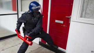 Police raid generic