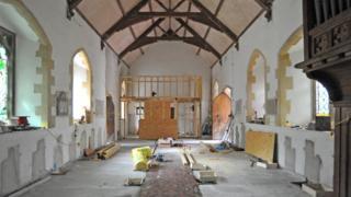 Renovation work at Mary Jones World