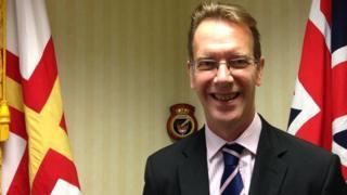 Steve Williams is the Channel Island's European affairs director