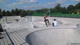 Clitheroe Castle skatepark