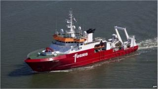 Australian-contracted survey ship M/V Fugro Discovery (file image)