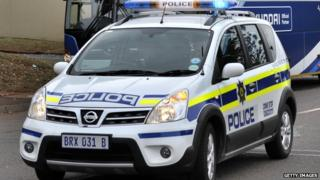 South African police car