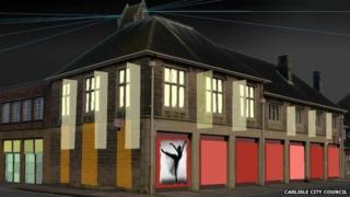Artist's impression of Carlisle's new art centre