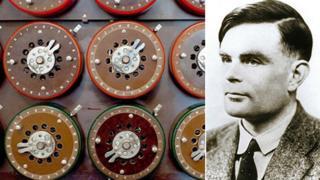 Bombe machine and Alan Turing