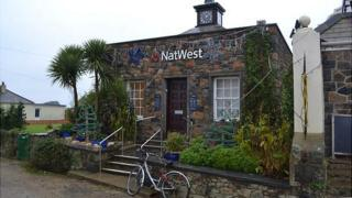 NatWest branch in Sark
