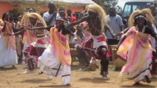 Ugandan choir