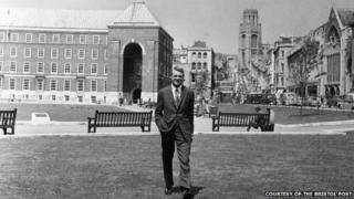 Cary Grant at College Green