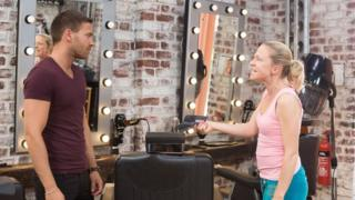 Matt di Angelo and Kellie Bright