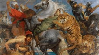 Tiger, Lion and Leopard Hunt, 1616