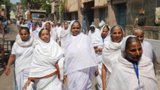 Widows in Calcutta