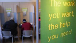 Generic picture of a job centre