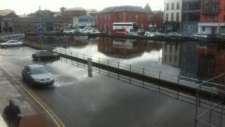 Cork flooding