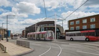 The Metro trams would operate in High Street Deritend if option two is chosen