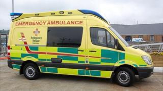 Guernsey ambulance