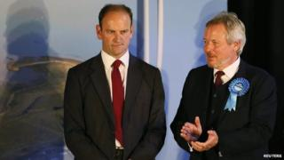 Douglas Carswell and Giles Watling