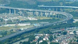 M4 Briton Ferry Bridge